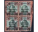 SG11a. 1900 1s. on 4d 'SURCHARGE DOUBLE'.One Of The 'Crown Jewel