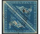 SG2. 1853 4d Deep blue. Wonderful used pair...