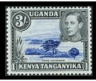 SG147a. 1947 3/- Deep violet-blue and black. Brilliant U/M mint.