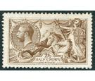 SG406. 1915 2/6 Yellow-brown. Superb mint...