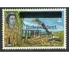 SG2. 1967 1c Loading sugar cane. U/M mint...