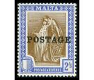SG153. 1926 2/- Brown and blue. Brilliant U/M mint...