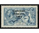 SG88. 1928. 10/- Dull grey-blue. Choice fresh U/M mint...