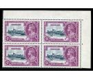 SG24c. 1935 6d Slate and purple. 'Lightning Cinductor'. U/M mint