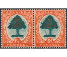 SG61a. 1937 6d Green and vermilion. 'Falling Ladder'. Very fine