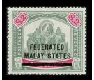 SG12. 1900 $2 Green and carmine. Superb well centred mint...