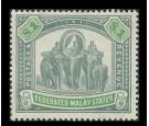 SG23. 1900 $1 Green and pale green. Very fine mint with strong c