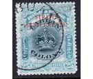 SG149a. 1907 25c Green and greeninsh blue. Superb fine used...