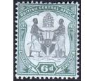 SG46. 1897 6d Black and green. Very fine fresh mint...