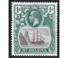 SG98a. 1922 1d Grey and green. 'Broken Mainmast'. Brilliant fres
