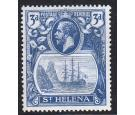 SG101c. 1923 3d Bright blue. 'Cleft Rock'. Brilliant U/M mint...