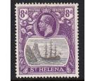 SG105c. 1923 8d Grey and bright violet. 'Cleft Rock'. Choice sup