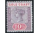 SG23. 1889 10s Dull mauve and red. Choice superb fresh mint...