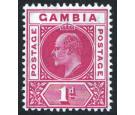 SG58a. 1904 1d Carmine. 'Dented Frame'. Brilliant fresh mint...