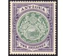 SG50. 1912 2/- Grey-green and violet. Superb fresh well centred