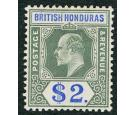 SG92. 1907 $2 Grey-green and blue. Superb fresh well centred min
