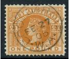 SG128. 1902 £1 Orange-brown. Choice superb well centred used...