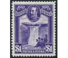 SG287. 1931 $1 Violet. Brilliant fresh perfectly centred mint...