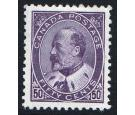 SG187. 1908 50c Deep violet. Exceptionally well centred mint...