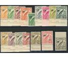 SG190-203. 1932 Set of 16. U/M mint...