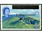 SG7. 1967 6c Crater, Mount Misery. Post Office fresh U/M Mint...