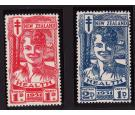 SG546-547. 1931 Set of 2. Health Stamps. Exceptional fresh mint.