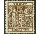 SG F205. 1946 30/- Brown. Extremely fine mint...