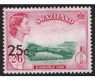 SG74b. 25c on 2/6 (Type II). Brilliant U/M mint...