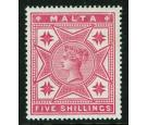 SG30. 1886 5/- Rose. Superb fresh well centred...