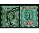 SG33-34. 1908 Set of 2. Superb fine used...