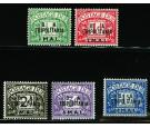 SG TD6-TD10. 1950 Set of 5. Beautiful U/M...