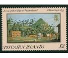 "SG267var. 1985 $2 A view of the village 1825. ""1835"" for ""1825""."