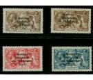 SG17-19+21. 1922 Dollard. The set complete (four values). Superb