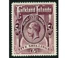 SG67b. 1916 5/- Maroon. Superb fresh well centred...