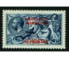 SG138a. 1914 12p on 10/- Indigo-blue. 'Surcharge double...