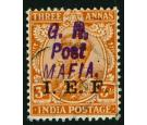 SG M48. 1916 3a Orange. Superb fine used with...