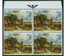 SG774a. 1968 Paintings 1/9 'Gold Omitted'. The 'Arrow' Block!...