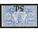 SG42a. 1924 5d on 2 1/2d Ultramarine. 'Surcharge Inverted'. U/M