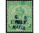 SG M34. 1915 1/2a Light green. Superb fine used...