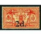 SG35. 1911 2d on 40c Red/yellow. Briliant U/M...