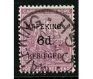 SG4. 1900 6d on 3d Magenta. Superb fine used...