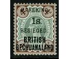 SG11. 1900 1s on 4d Green and purple-brown. Superb perfectly cen