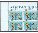 SG414a. 1966 24p Players ball and cup. 'OVERPRINT INVERTED'. Fa