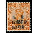 SG M38. 1915 3a Orange. Superb fresh mint...