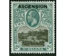 SG4a. 1922 2d Black and grey. Line through 'P' of 'POSTAGE'. Bri