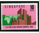 SG95a. 1967 10c Housing Congress. 'Overprint Omitted'. Fantastic