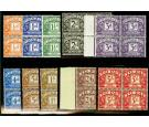 SG D46-D55. 1955 Postage Due. Set Of 10. Post Office Fresh U/M..
