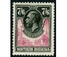 SG15. 1925 7/6 Rose-purple and black. Superb fresh well centred.