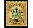 SG7. 1914 3d on 25pf Black and red/yellow. Superb fresh mint...
