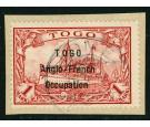 SG H10. 1914 1m Carmine. A beautiful used example...